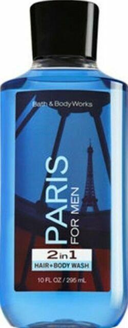 Bath & Body Works - Bath & Body Works Signature Collection Paris 2 in 1 Hair Body Wash Men 10oz