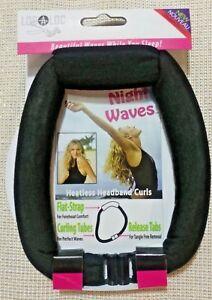 LocALoc - Details about LocALoc Style Night Waves Heatless Headband Curls NO potential heat damage hair