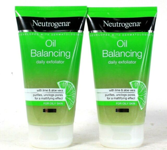 Neutrogena - 2 Neutrogena Oil Balancing Daily Exfoliator 150 Ml Each