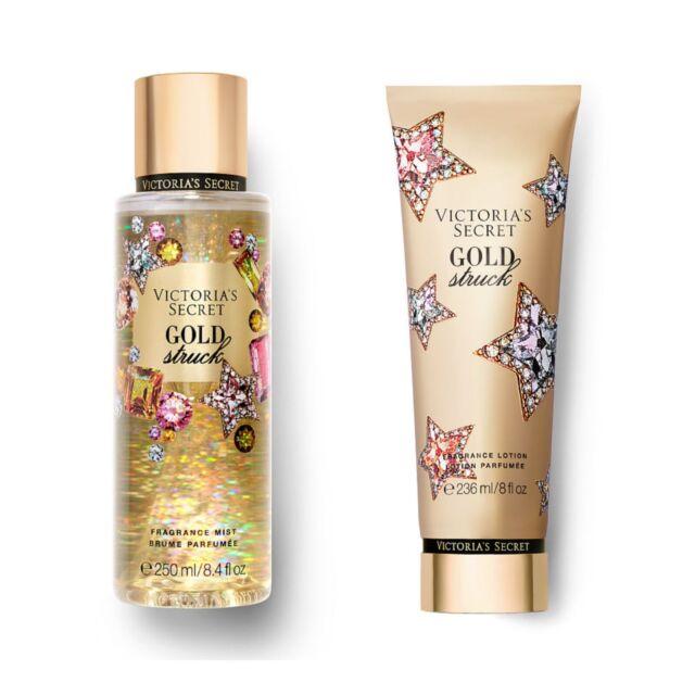 www.ebay.com - Gold Struck Fragrance Body Mist and Body Lotion