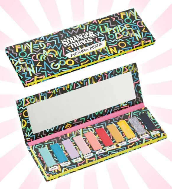 ebay.com - Netflix Stranger Things 10 Shade Eyeshadow Palette 80's LIMITED EDITION