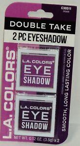 L. A. Colors - Details about LA COLORS Eye Shadow Double Take 2 Pc Eyeshadow MOXIE #C30511 NIP