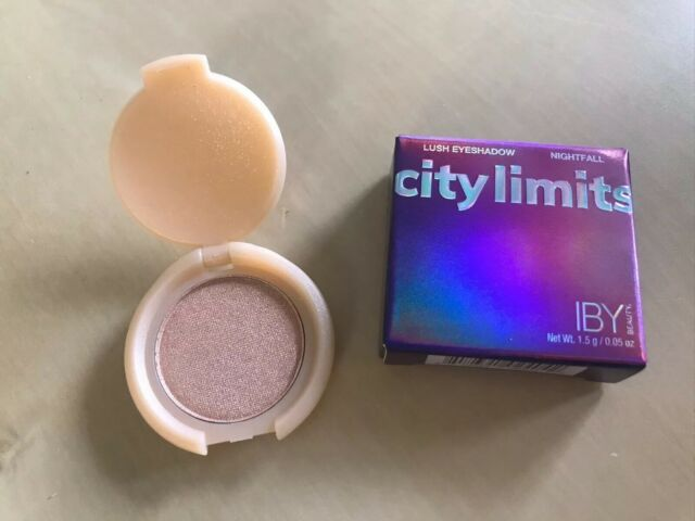 ebay.com - New! IBY Beauty City Limits Lush Eyeshadow Single Nightfall 0.05 oz Trial Size
