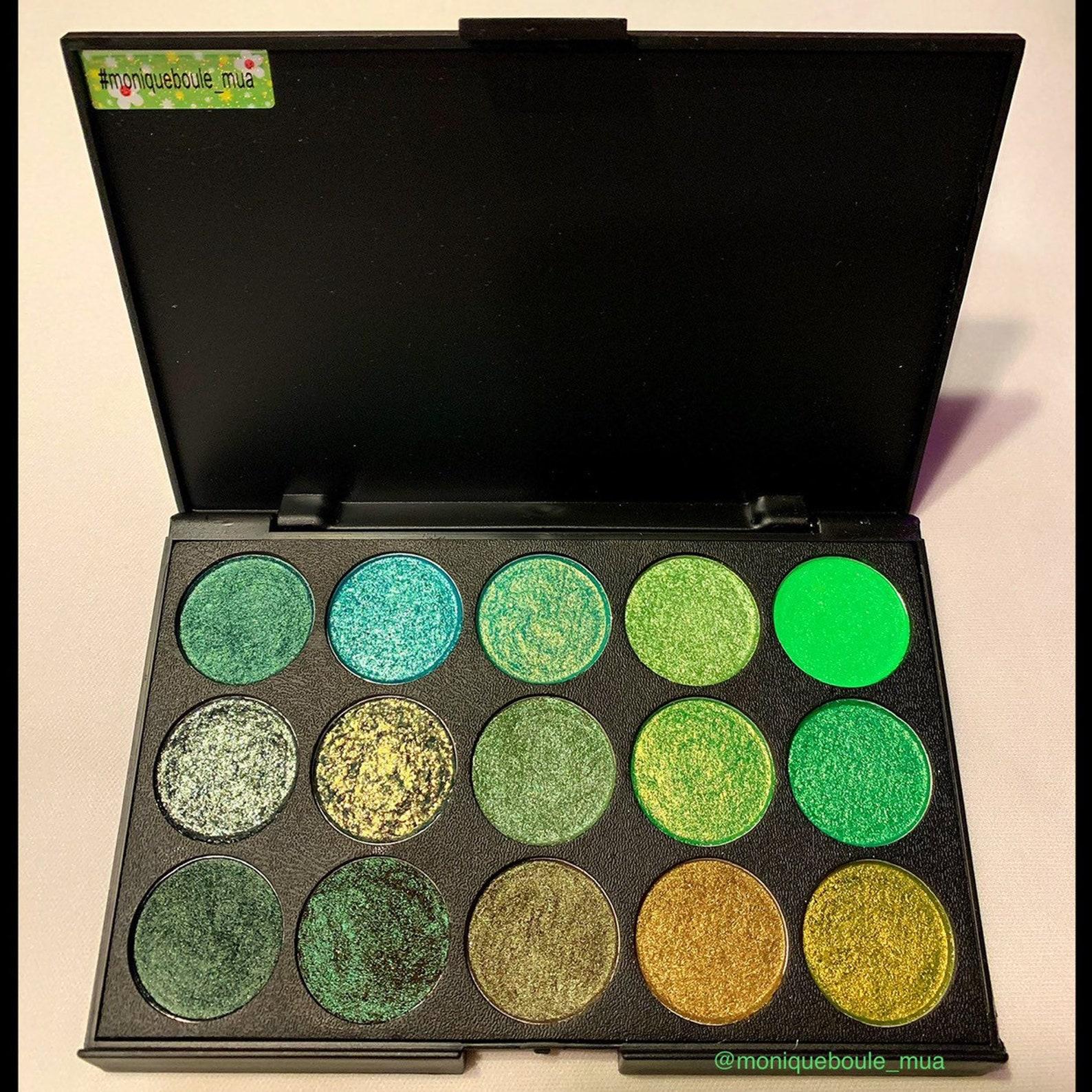 etsy.com - The Greens Vegan Eyeshadow Palette