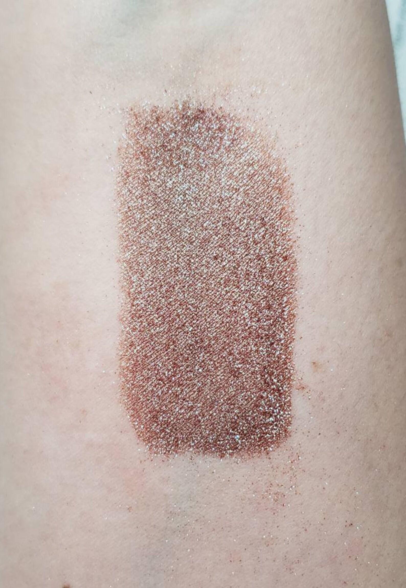 etsy.com - Dragon's Hoard - warm brown with blue and purple sparkles eyeshadow 5 gram VEGAN **Retiring**