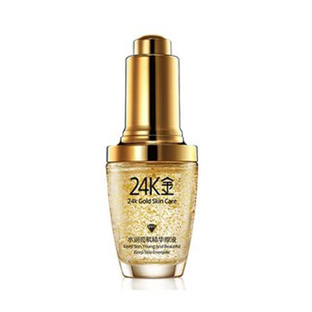 universoenlinea - Bioaqua 24k Gold Essence Colageno Aceite Gold Skin Antiedad