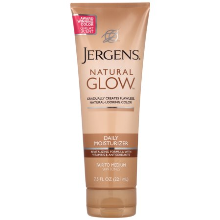 Jergens - Jergens Natural Glow 3 Days to Glow Moisturizer, Fair to Medium 4 oz (Pack of 2)