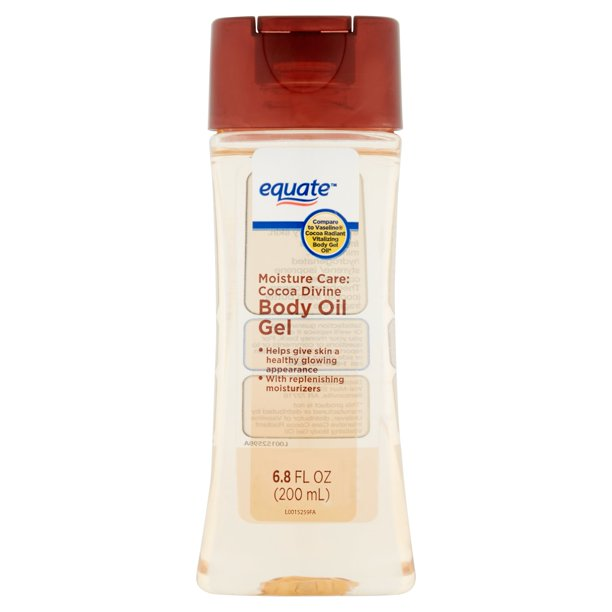 Equate Equate Moisture Care Cocoa Divine Body Oil Gel, 6.8 fl oz