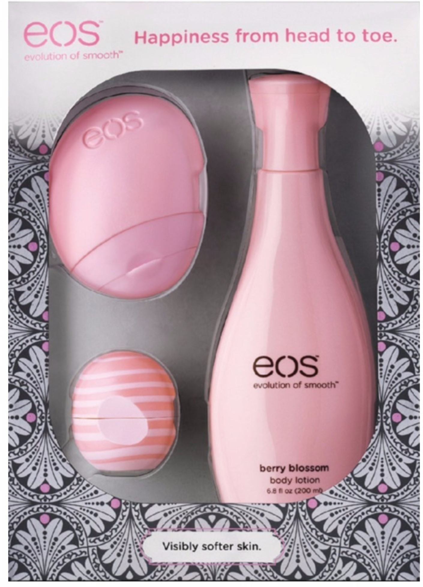 Eos - Berry Blossom Lip & Lotion Gift Set