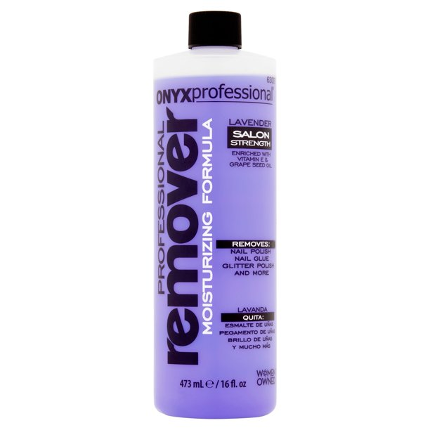 Onyx Professional - Onyx Professional Moisturizing Formula Lavender Nail Polish Remover, 16 fl oz