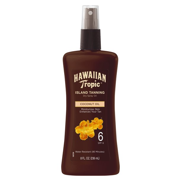 Hawaiian Tropic - Dark Tanning Oil Pump Spray