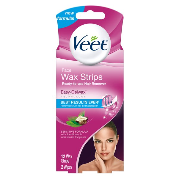 Veet - Ready-To-Use-Wax-Strips Hair Remover Face