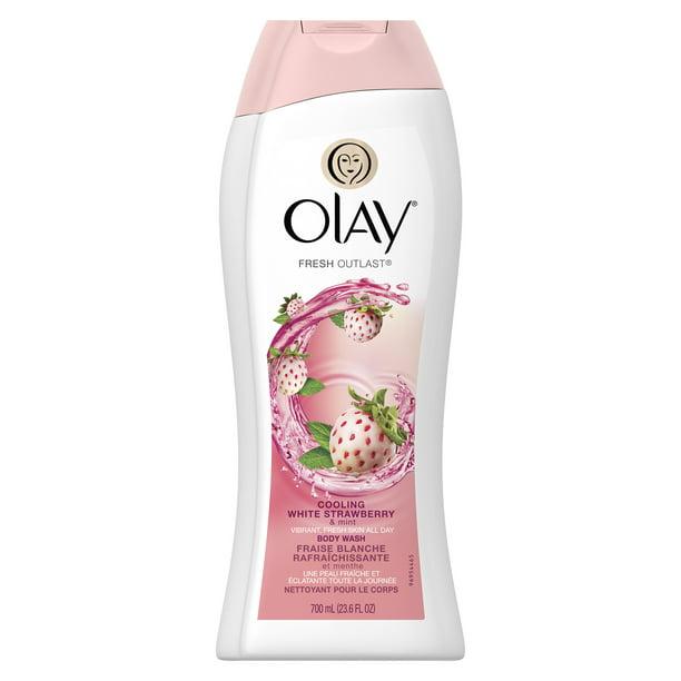 Olay - Olay Fresh Outlast Cooling White Strawberry & Mint Body Wash 23.6 oz