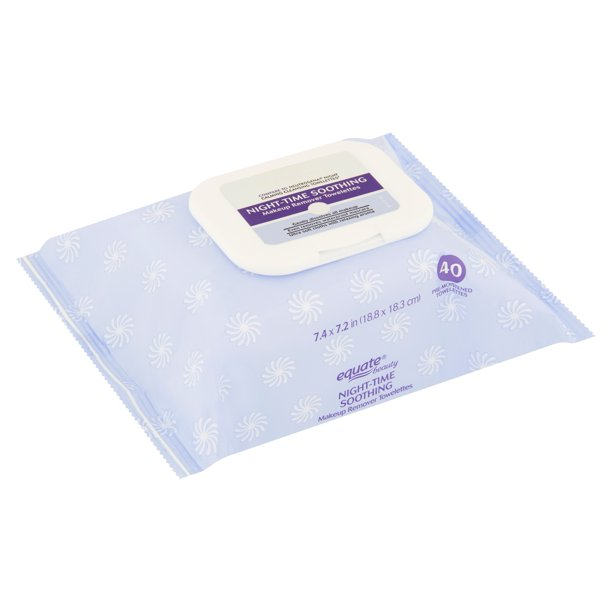 Equate Beauty. - Night-Time Soothing Makeup Remover Towelettes