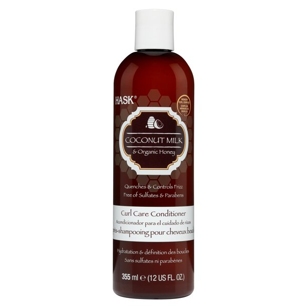 Hask - Hask Curl Care Coconut Milk & Honey Conditioner, 12 Ounce