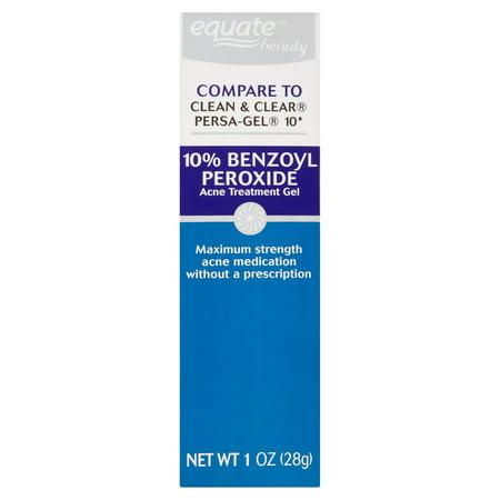 Equate Beauty - Equate Beauty 10% Benzoyl Peroxide Acne Treatment Gel, 1 oz