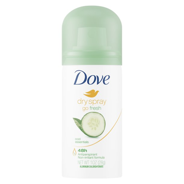 Dove - Dove 1 Oz. Cool Essentials Dry Spray