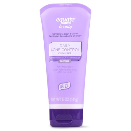 Equate Beauty. - Equate Beauty Daily Acne Control Cleanser, 5 oz