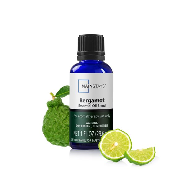 Mainstays - MAINSTAYS ESSENTIAL OIL BERGAMOT 1oz