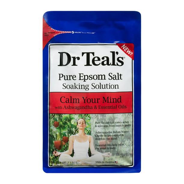 Walmart.com - Dr Teal's Ashwagandha Epsom Soak, 3 lb. - Walmart.com