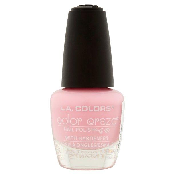 L. A. Colors - L.A. Colors Color Craze CNP527 Delicate Nail Polish, 0.44 fl oz