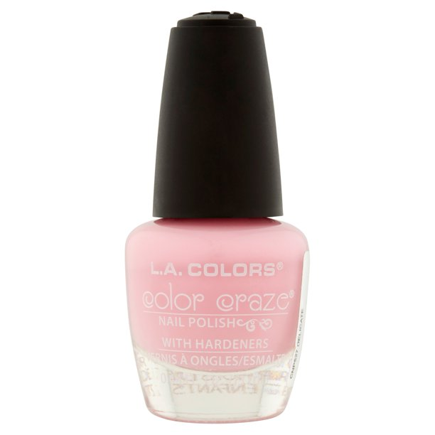 L. A. Colors - L.A. Colors Color Craze CNP527 Delicate Nail Polish, 0.44 fl oz