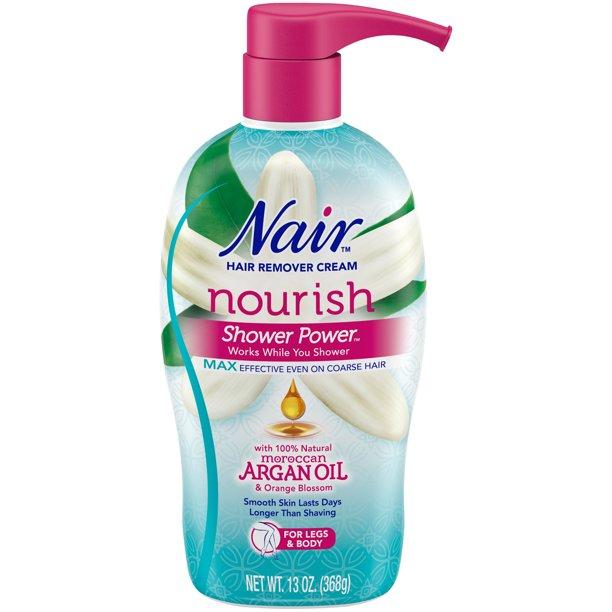 Nair - Nair Hair Remover Cream Nourish Shower Power Moroccan Argan Oil, 13 oz.