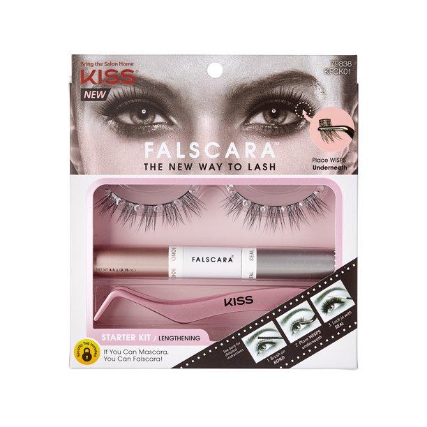 Walmart.com - KISS Falscara Eyelash - Starter Kit 01 - Walmart.com