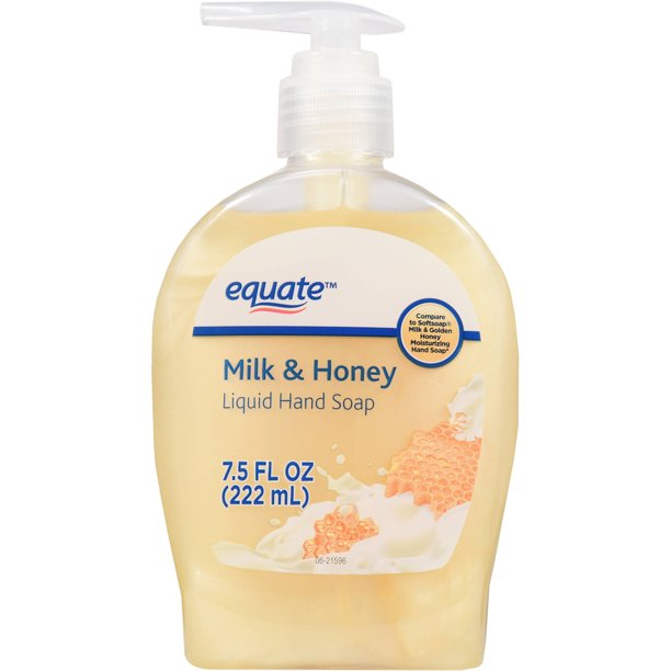 Equate - Equate 7.5 Fl. Oz. Milk & Honey Liquid Hand Soap