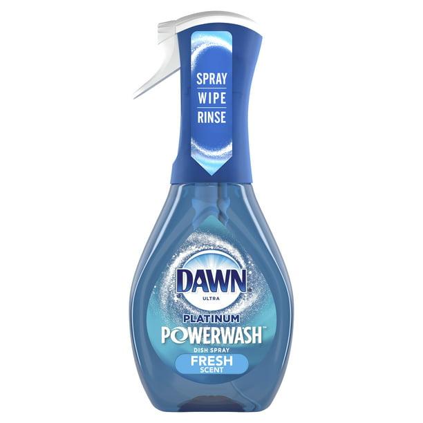 Dawn - Dawn Platinum Powerwash Dish Spray, Dish Soap, Fresh Scent, 16 Fl Oz