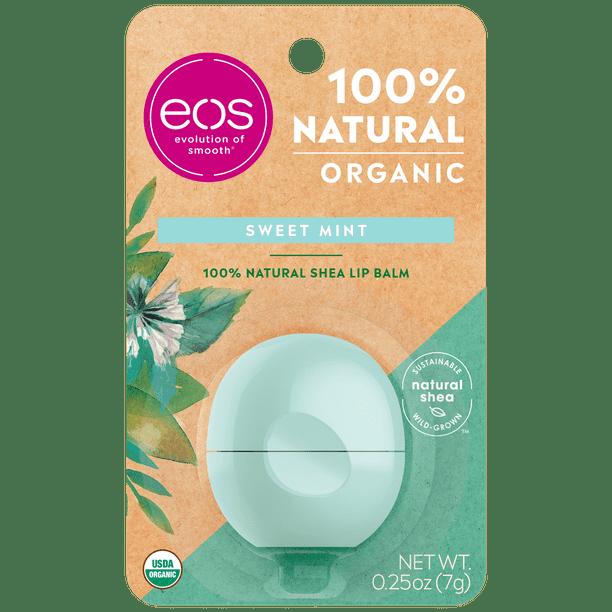 Eos - eos 100% Natural & Organic Lip Balm Sphere - Sweet Mint | 0.25 oz