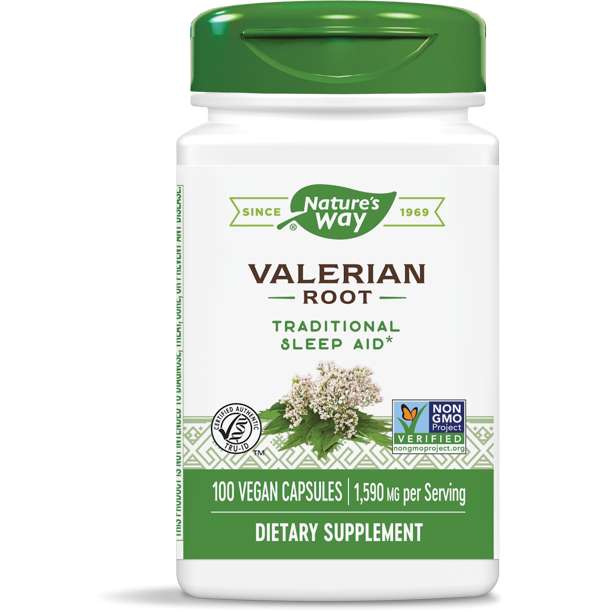 Nature'S Way - Natures Way Valerian Root Capsule 100 Count