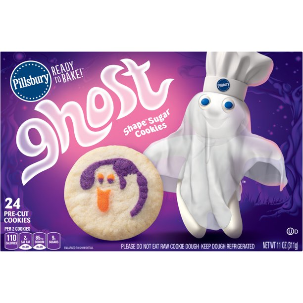 Pillsbury - Pillsbury Ready to Bake!™ Ghost Shape® Sugar Cookies, 11.0 OZ