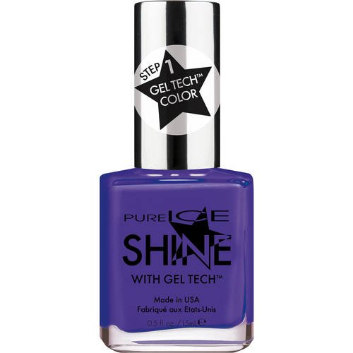 Pure Ice - Pure Ice Shine with Gel Tech Nail Polish, Really Royal, 0.5 fl oz