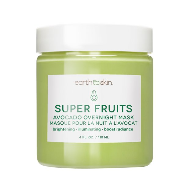 Earth to Skin - Earth to Skin Super Fruits Avocado Overnight Mask , 4 oz