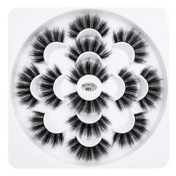 DYSILK - 3D Mink Eyelashes, Set of 7