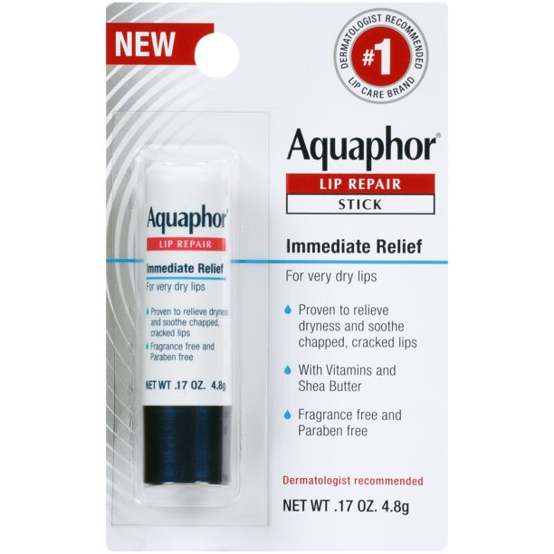 Walmart.com - Aquaphor Lip Repair Stick - Soothes Dry Chapped Lips - .17 oz. Stick - Walmart.com