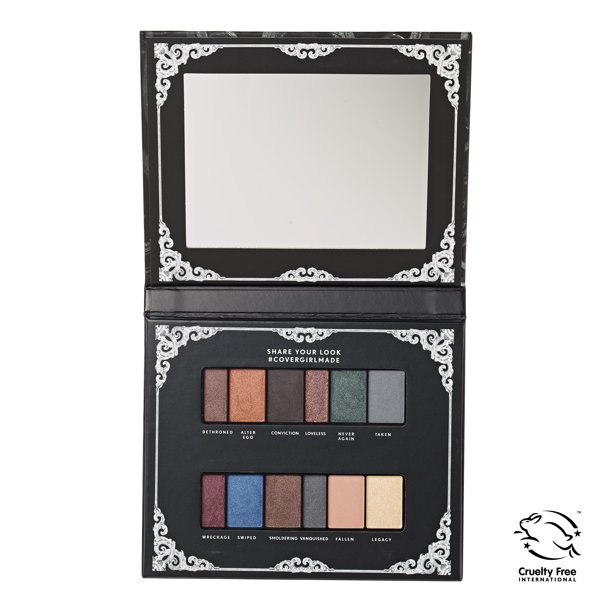 Covergirl - COVERGIRL Her Majesty Overthrown Eyeshadow Palette