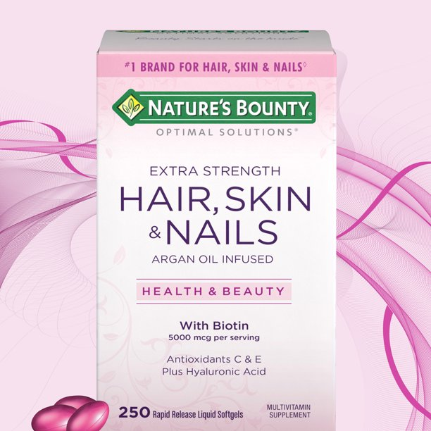 Nature'S Bounty - Nature's Bounty Hair Skin and Nails 250 Softgels