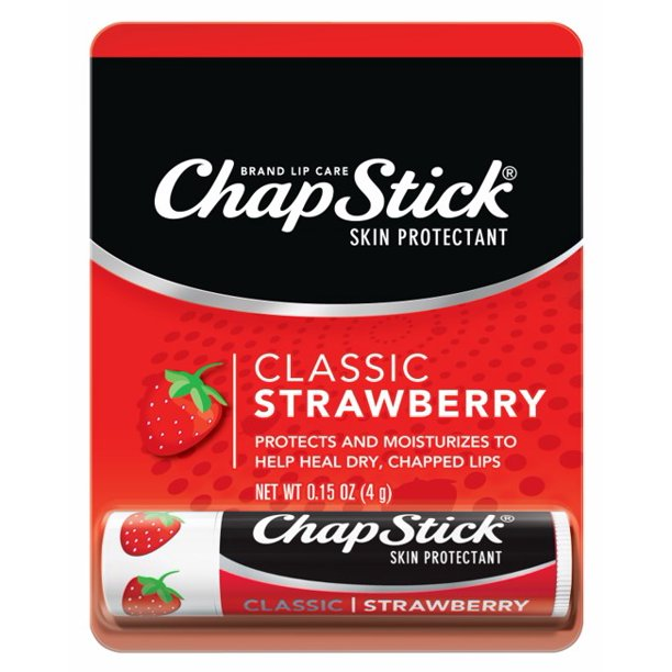 Chapstick - ChapStick Skin Protectant Classic Strawberry, 0.15 OZ