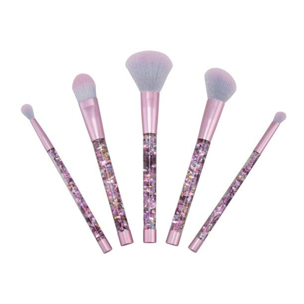 Advantus Corp. Candie Couture by Margaret Josephs 5 Piece Makeup Brush Set, Glitter