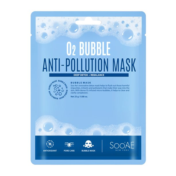 Soo'Ae - O2 Carbonated Anti-Pollution Mask