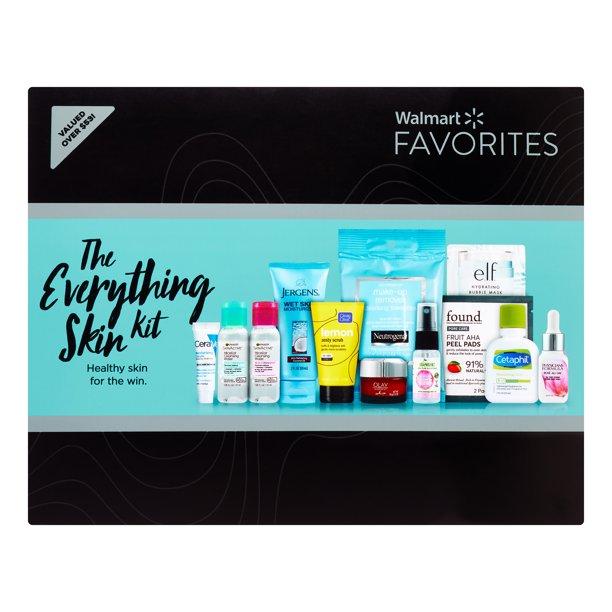 Walmart The Everything Skin Kit