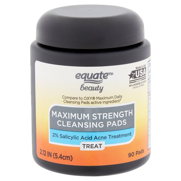 Equate Beauty. - Equate Beauty Maximum Strength Cleansing Pads, 90 Count