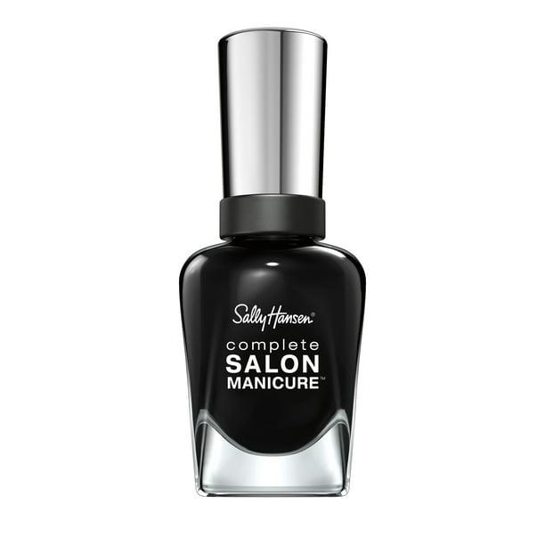 Sally Hansen - Sally Hansen Complete Salon Manicure Nail Color, Hooked on Onyx
