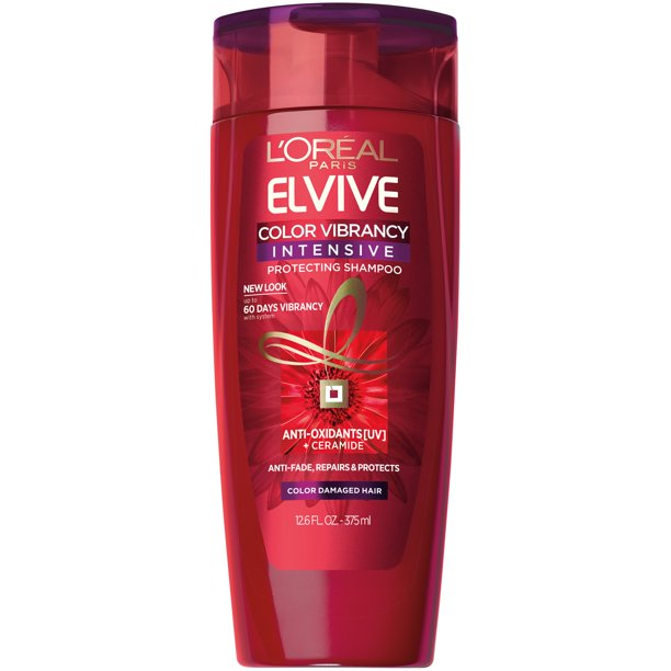 L'Oreal Paris - L'Oreal Paris Elvive Color Vibrancy Intensive Protecting Shampoo, 12.6 fl. oz.