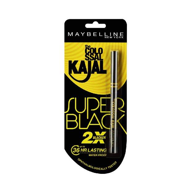 Maybelline - Maybelline New York Colossal Kajal, Super Black, 0.35g