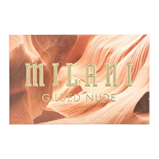 Milani - MILANI Gilded Nude Palette, Gilded Nude