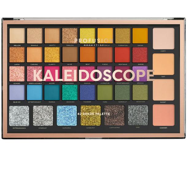 Profusion Cosmetics - Profusion Cosmetics Kaleidoscope Palette, 42 Shades, 16.16 oz.