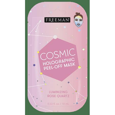 Freeman's - Cosmic Holographic, Luminizing Rose Quartz, Peel-Off Facial Mask